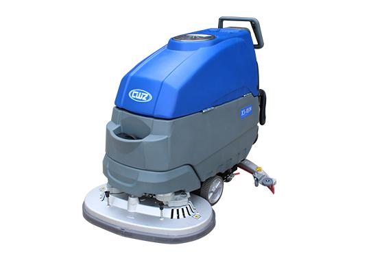 手推式自动地板洗涤器的特点
